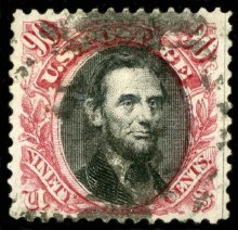 Lincoln_90c_1869