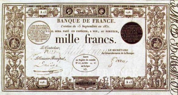 1000_francs_1831
