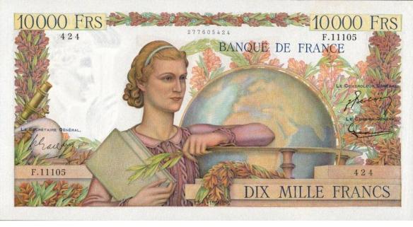 10000_francs_Génie_1945_1
